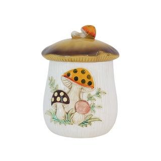 Vintage Mushroom Cookie Jar
