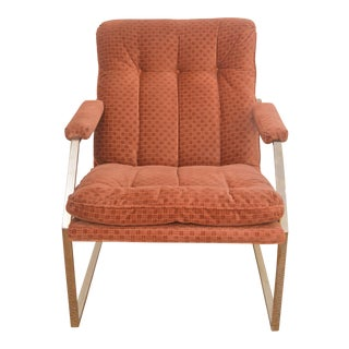 Vintage Milo Boughman Style Lounge Chair