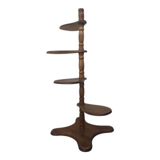 Vintage Timber Plant Stand