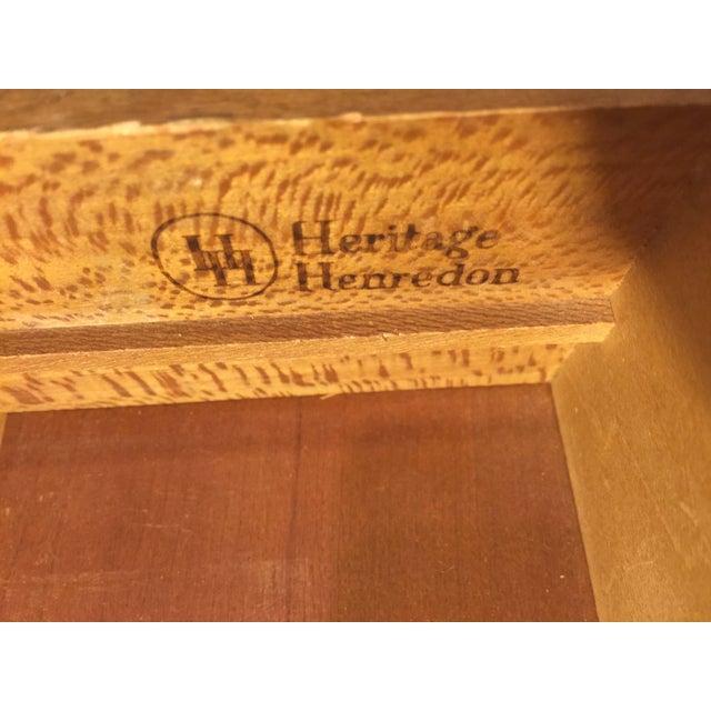 Heritage Henredon Mid-Century Highboy Dresser - Image 11 of 11
