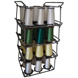 Industrial Thread Spooler with 36 Spools of Thread