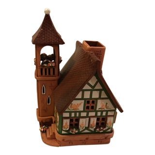 Handmade Ceramic Miniature Candle House