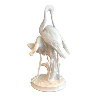Herend Porcelain Spoonbills Figurine