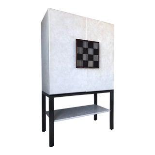 Galliano Checkerboard Cabinet