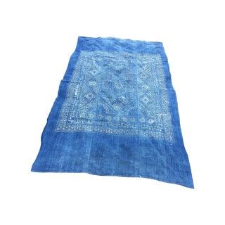 Homespun Indigo Batik Textile