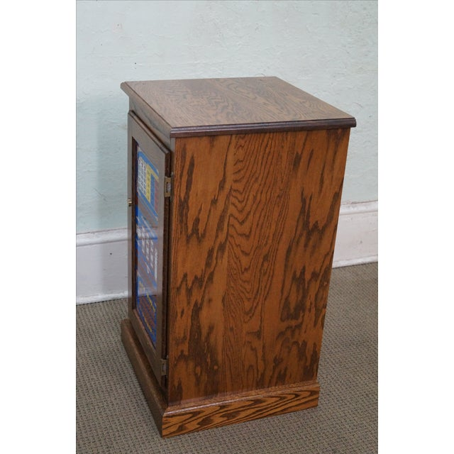Repurposed Golden Nugget Slot Machine Side Table - Image 8 of 10