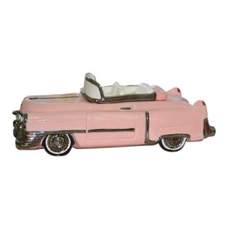 Pink Cadillac Cookie Jar