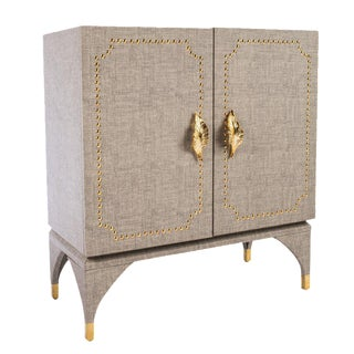 Statements By J Feuille Studded Cabinet