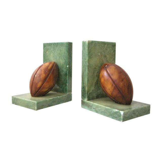 Rugby Bookends - Pair - Image 1 of 7