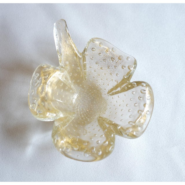 Vintage Murano Leaf-Shaped Dishes - Set of 3 - Image 5 of 5