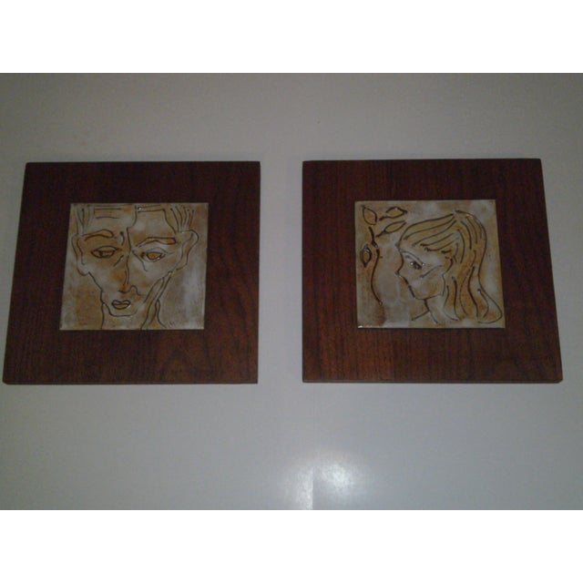 Image of 1950's Art Tiles by Harris B. Strong