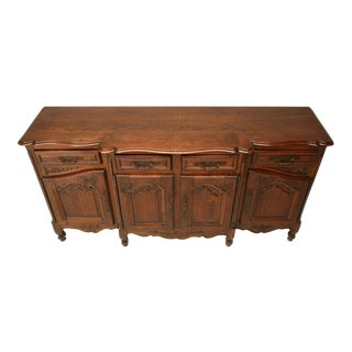 Gorgeous Antique French Oak Louis XV 4 over 4 Buffet