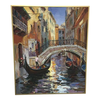 Canals of Venice Original Oil Painting