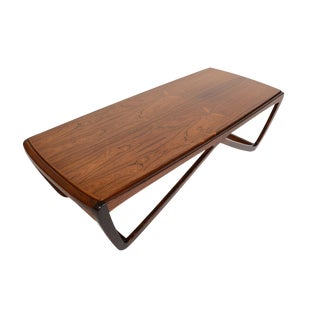 Danish Modern Ostervig Style Rosewood Coffee Table