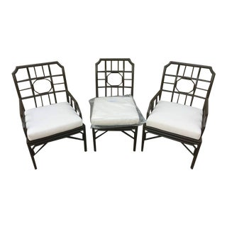 Selamat Designs Aluminum Chairs - Set of 3