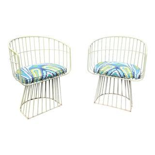 Mid-Century Indoor Outdoor Trina Turk Chairs - a Pair