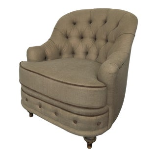 Vintage Re-Upholtered Armchair