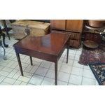 Image of Vintage Corner Side Table