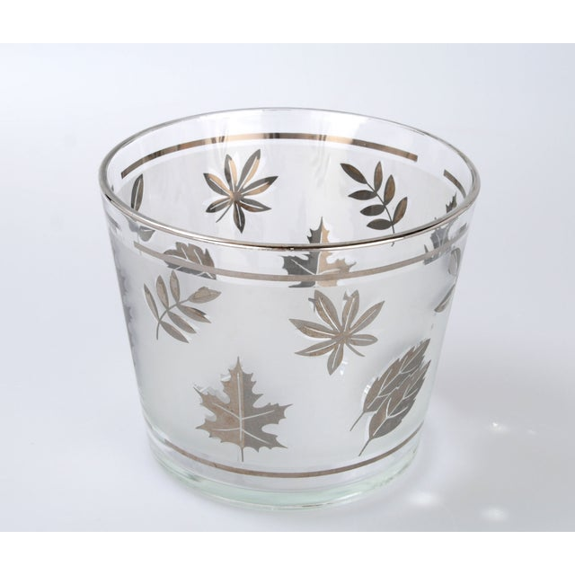 Silver Leaf Drinking Glasses Set - Set of 6 - Image 5 of 7