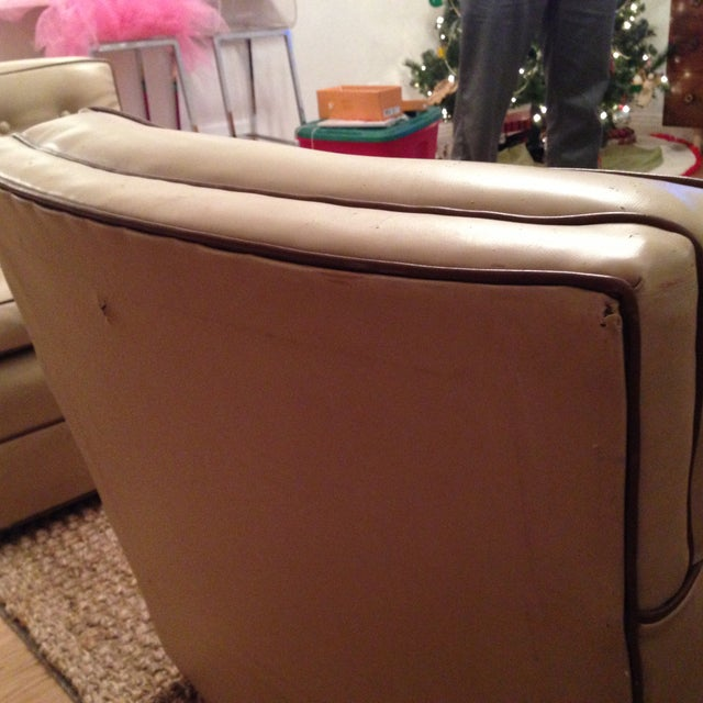 Image of Mid-Century Modern Swivel Chairs - A Pair