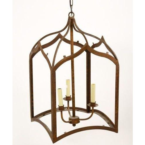 Large Gothic 3-Light Lantern - Image 2 of 5
