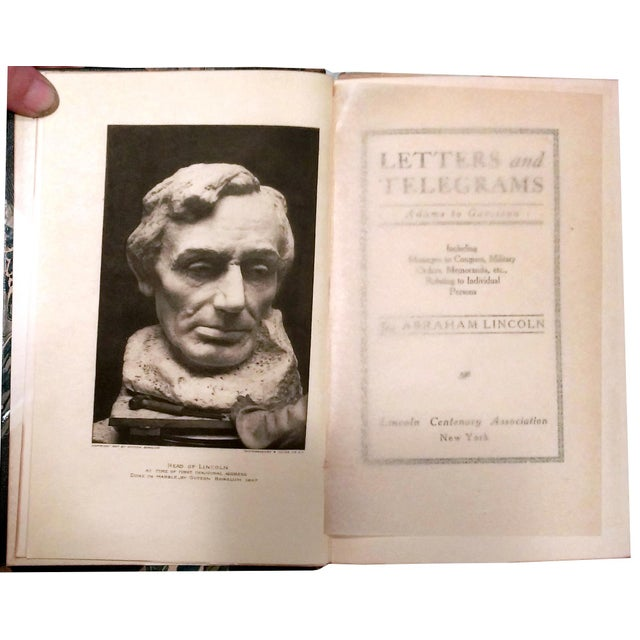 """Image of Limited Ed. 1907 """"Works of Abraham Lincoln"""" - 8"""