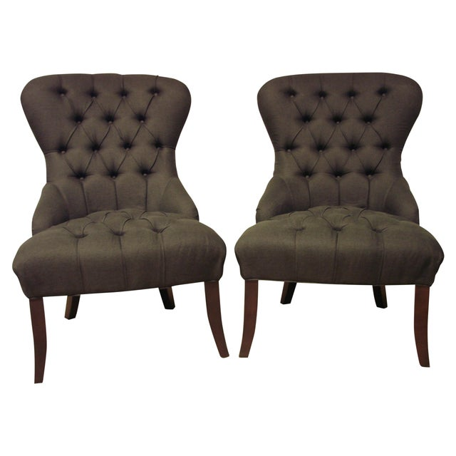 Mitchell Gold + Bob Williams Chairs - a Pair - Image 1 of 5