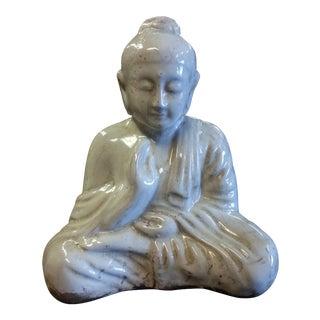Ivory Sitting Buddha Statue