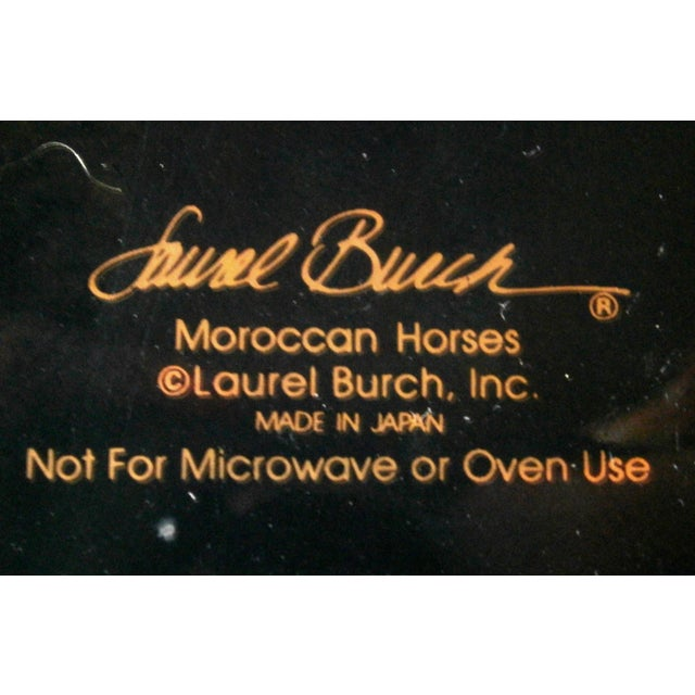 Image of Art Deco Laurel Burch Moroccan Horses Mugs - 2