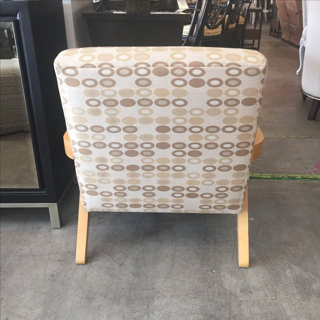 Image of Heywood Wakefield Mid-Century Chair And Ottoman