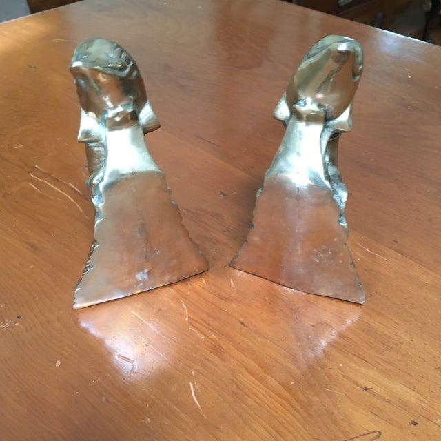 Hollywood Regency Brass Dolphin Bookends - A Pair - Image 5 of 6