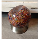 Image of Multi-Colored Retro Orb Table Light