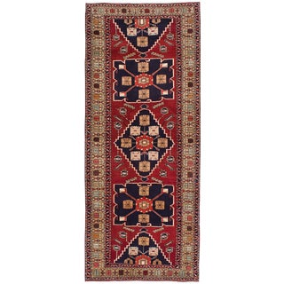 "Meshkin Vintage Persian Rug, 3'11"" x 10'0"""
