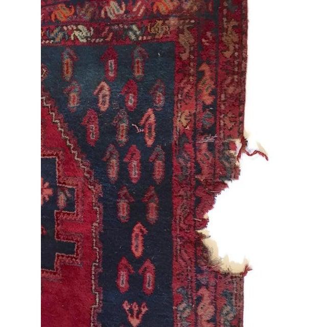 Vintage Ornate Kazak Persian Rug - 5' x 6' - Image 4 of 10
