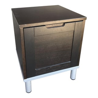 Single Drawer End Table & File Cabinet