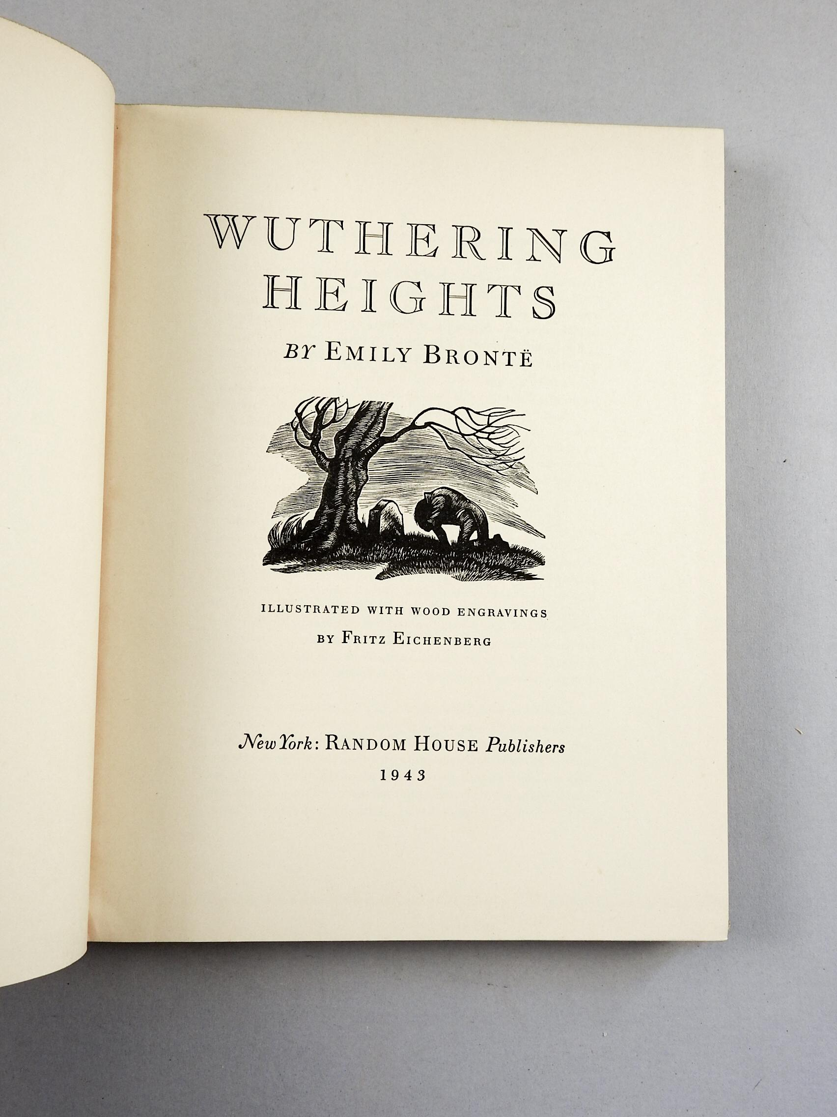 symbolism in emily brontes novel wuthering heights Get an answer for 'discuss the irony/symbolism used in emily bronte's wuthering heightsfor my lit12 class i read this book for january now it's february when my teacher finally decides it's .