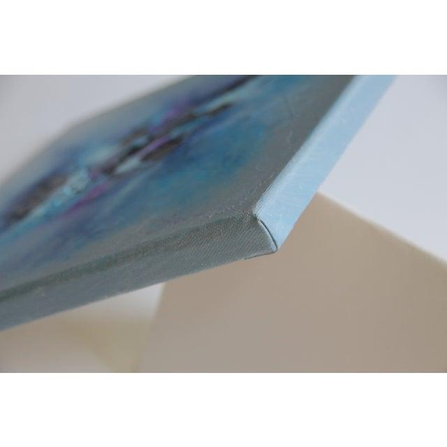 """Harbor Mist,"" Acrylic Painting - Celeste Plowden - Image 4 of 4"
