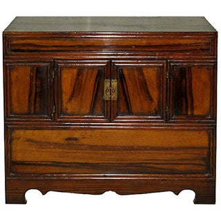 1920s Persimmon Chest