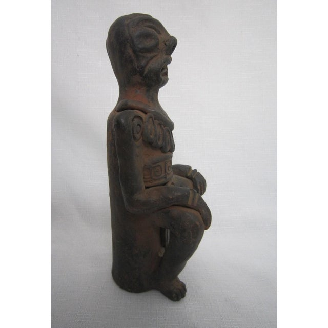 Image of Primitive African Pottery Figure
