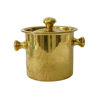 Vintage Brass Ice Bucket
