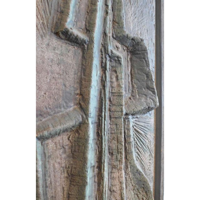 Abstract Bas-Relief by Lee Rosen - Image 2 of 4