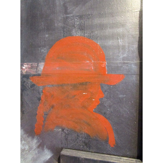 Image of Mixed Media Painting/Sculpture