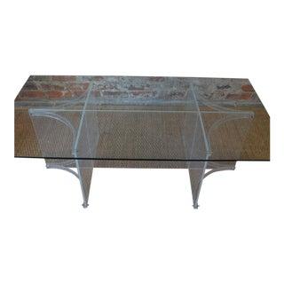 Glass & Acrylic Coffee Table