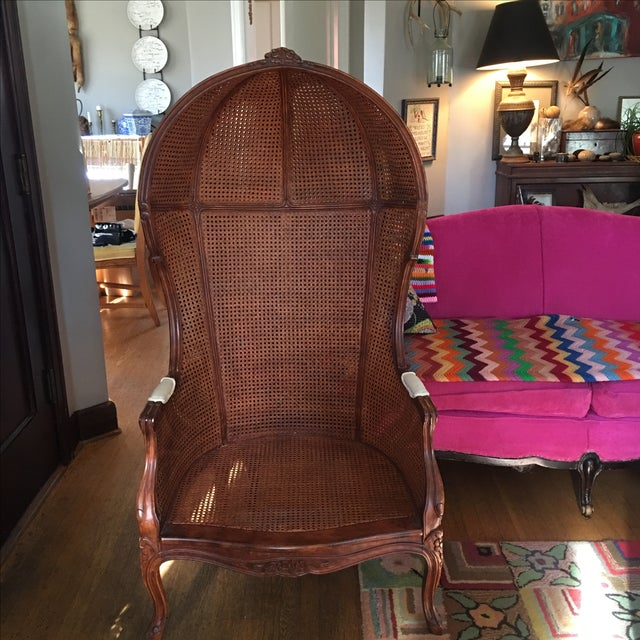 Image of Antique Porter's Chair