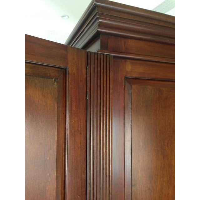 Classic Wood Armoire/Wardrobe - Image 6 of 10