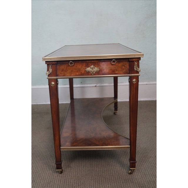 Image of Theodore Alexander Regency Console Table