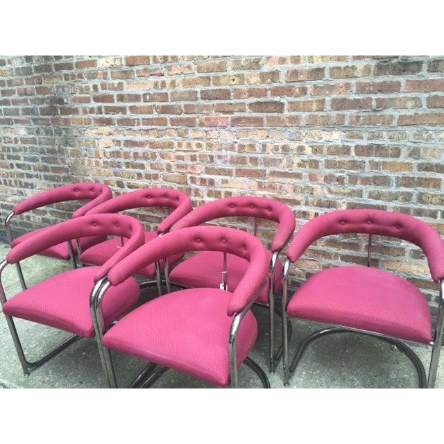 Vintage Thonet Anton Lorenz Chairs - Set of 6 - Image 4 of 11