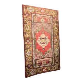 """Bellwether Rugs Distressed Turkish Oushak Rug - 3' x 5'2"""""""