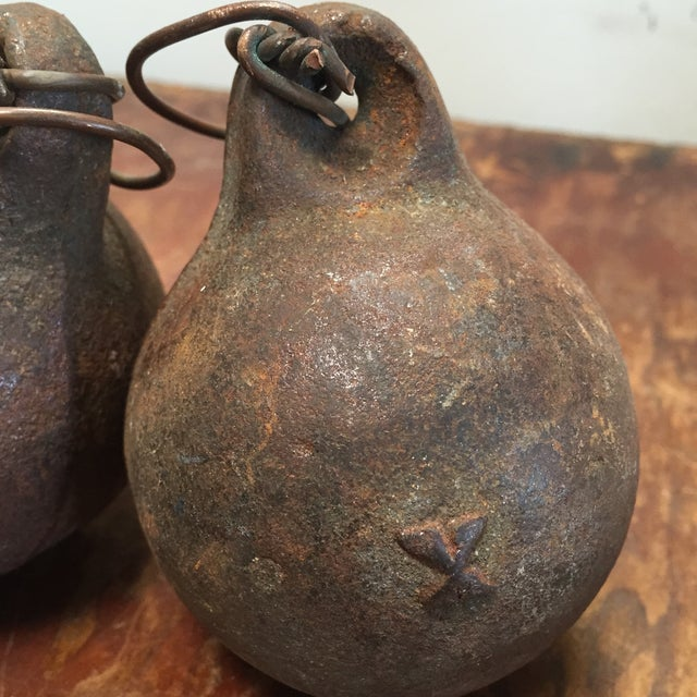 Image of Vintage Fishing Weights - S/3