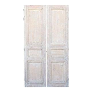Pair of Louis XVI Doors in Pine